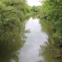 Безлюдовка. Река Северский Донец.