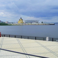 Н. Новгород - На Нижне-Волжской набережной