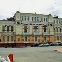 Ул. Нижне-Волжская Набережная - Здание бывшей (1896 г) торговой биржи