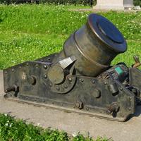 В музее артилерии.