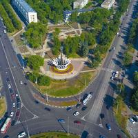 Сквер Выпова Новокузнецк