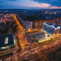 Красивый Сквер имени Жукова Новокузнецк
