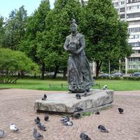 скульптурная композиция «Охтенка»