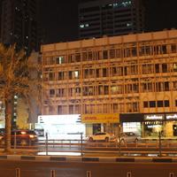Аджман. Ночной город.