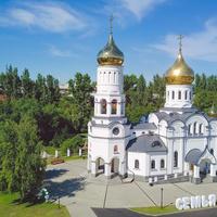 Храм Петра и Февронии Новокузнецк