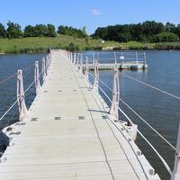 Шагаровка. Мост через пруд.