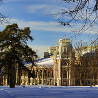 Москва,музей-Заповедник Царицыно