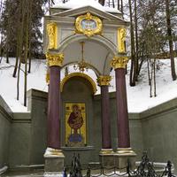 Святой источник в селе Талеж.