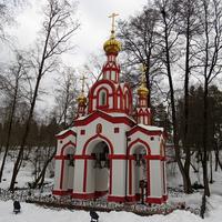 Возле родника преподобного Давида Серпуховского в Московской области