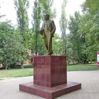 Памятник Ленину на ул. К. Маркса.