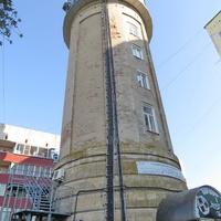 Старая водонапорная башня.