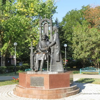 Памятник Петру и Февронье Муромским