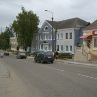 Центр города Глубокое