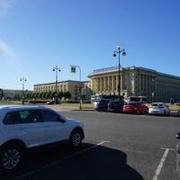 Площадь Растрелли.