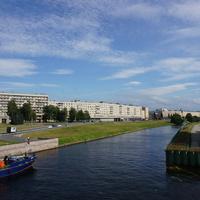 Река Охта.