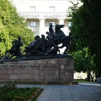 Памятник В.И.Чапаеву.