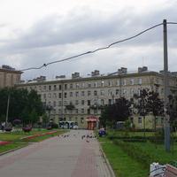 Улица Полярников.