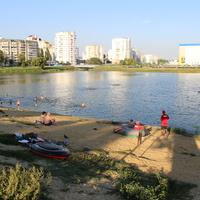 Белгород. Левобережный пляж.