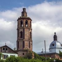 Екатерининская церковь в Курчуме