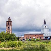 Екатерининская церковь в с. Курчум