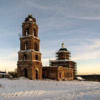 Преображенская церковь с. Селезениха Кирово-Чепецкий р-н