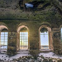 Интерьер Преображенской церкви в с. Селезениха