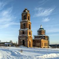 Преображенская церковь с. Селезениха
