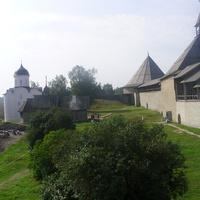 Храмы и башни Староладожской крепости