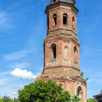 колокольня церкви Вознесения Господня в с. Хмелевка Зуевского района Кировской области
