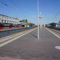 Пероны.Финляндский вокзал.