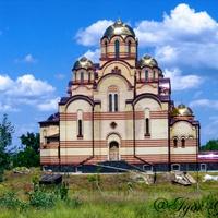 Будівництво церкви в районі Дахнівка.