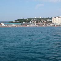 Джубга. Вид на пляж