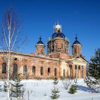 Покровская церковь  с. Ухтым Богородского района Кировской области