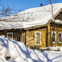 Дом в с. Ухтым Богородского района Кировской области