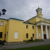 Павловск.Улица Садовая.Церковь.