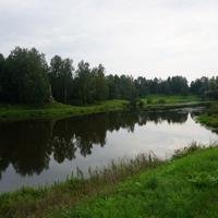 Павловск.Река Славянка.