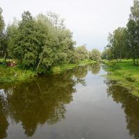 Природа Павловска.Река славянка.Зона отдыха.