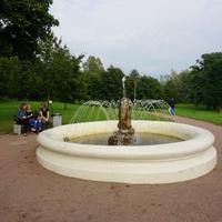 Фонтан.В парке Мариенталь.