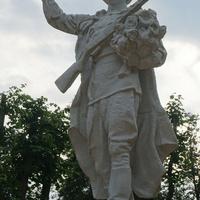 Павловск.Памятник воину победителю.Нет. табличек.Фрагмент.