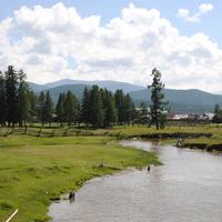 Река Большой Улаганчик.