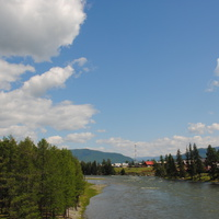 Река Бошкаус.