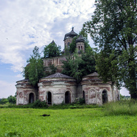 Воскресенская церковь в с. Кырмыж Куменского района Кировской области