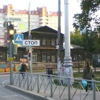 Перекрёсток улиц Пушкина и Горького