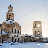 Церковь Богоявления Господня в с. Лема Зуевского района