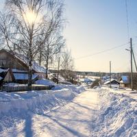 Улица в с. Лема Зуевского района