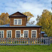 Дом-музей художников Васнецовых в с. Рябово Зуевского района