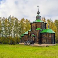Предтеченская церковь в с. Рябово Зуевского района