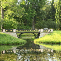 Мост у Продольного пруда