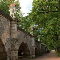 Пандус Екатерининского дворца