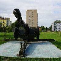 Бульвар Победы, 122 мм гаубица Д-30